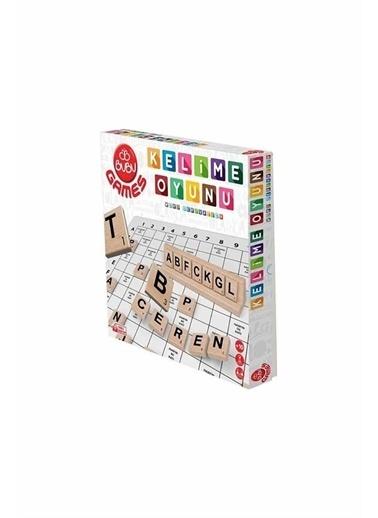 Bubu Games Ahşap Kelime Oyunu Renkli
